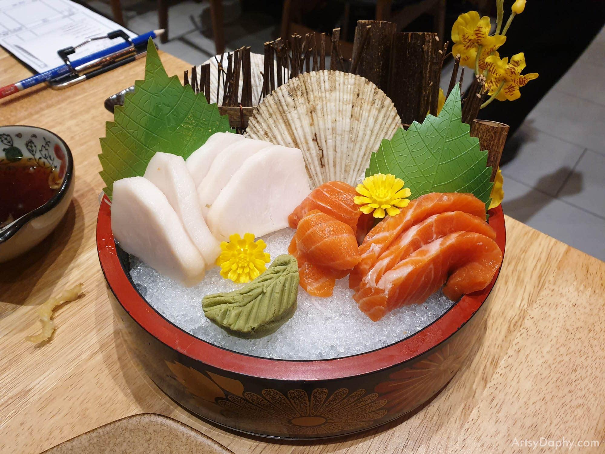 Sashimi from Ginza Sushi Restaurant