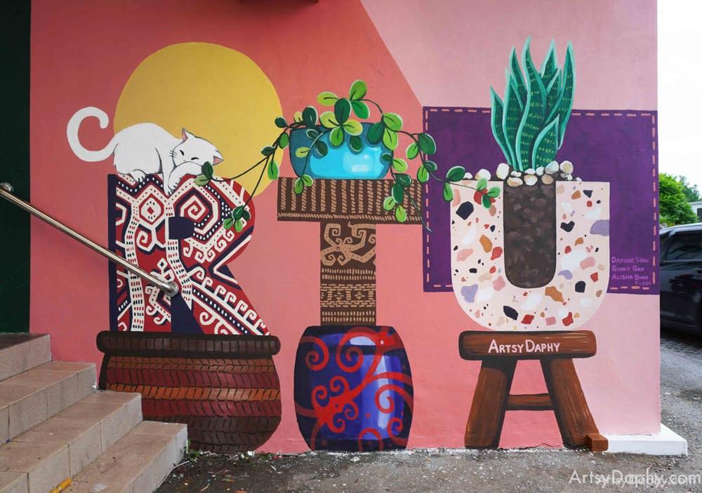 sarawak general hospital rtu wall art by Artsy Daphy
