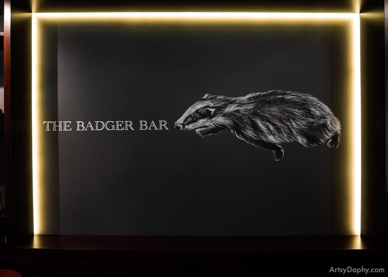 Sarawak Club Badger Bar Mural Painitng