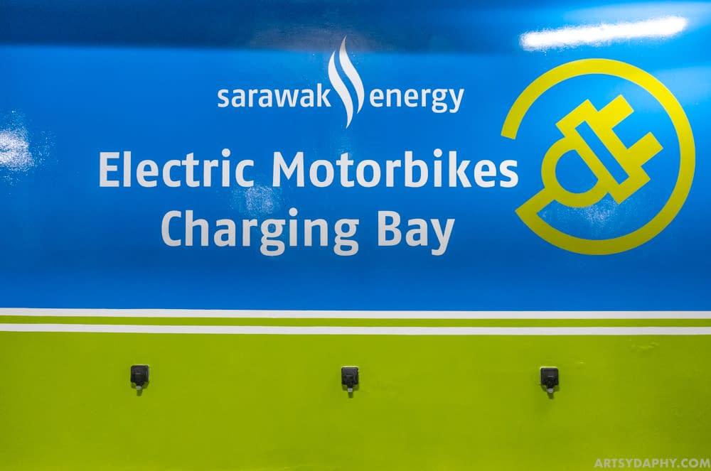 High Gloss Wall Painting for Sarawak Energy Charging Bay