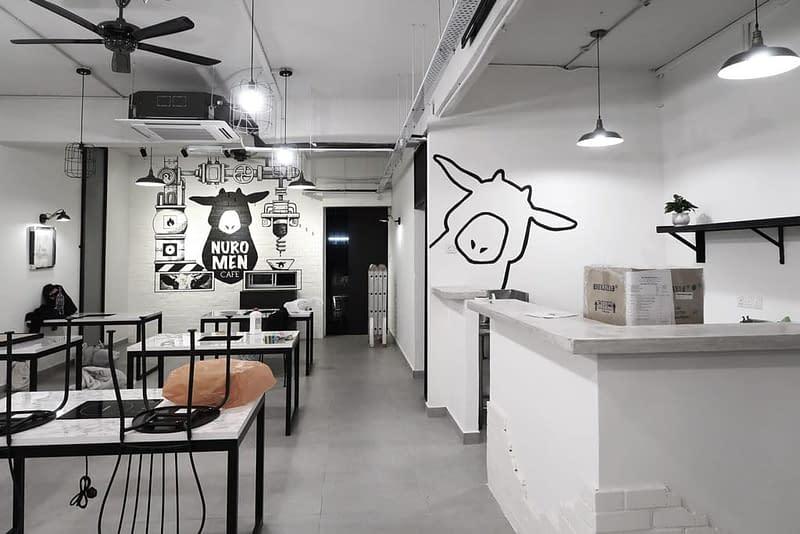 adorable cows Restaurant Mural Kuala Lumpur, at Nuromen Petaling Jaya