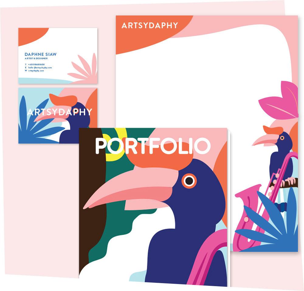 Portfolio of Professional Artist Malaysia