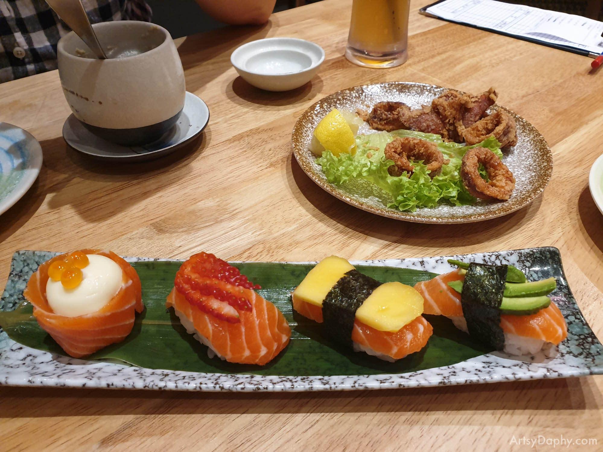 Sushi from Ginza Japanese Restaurant Saradise